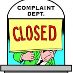 Complaints Closed