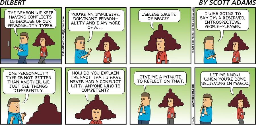 Styles of Communication as Seen by Dilbert - McLaren Coaching